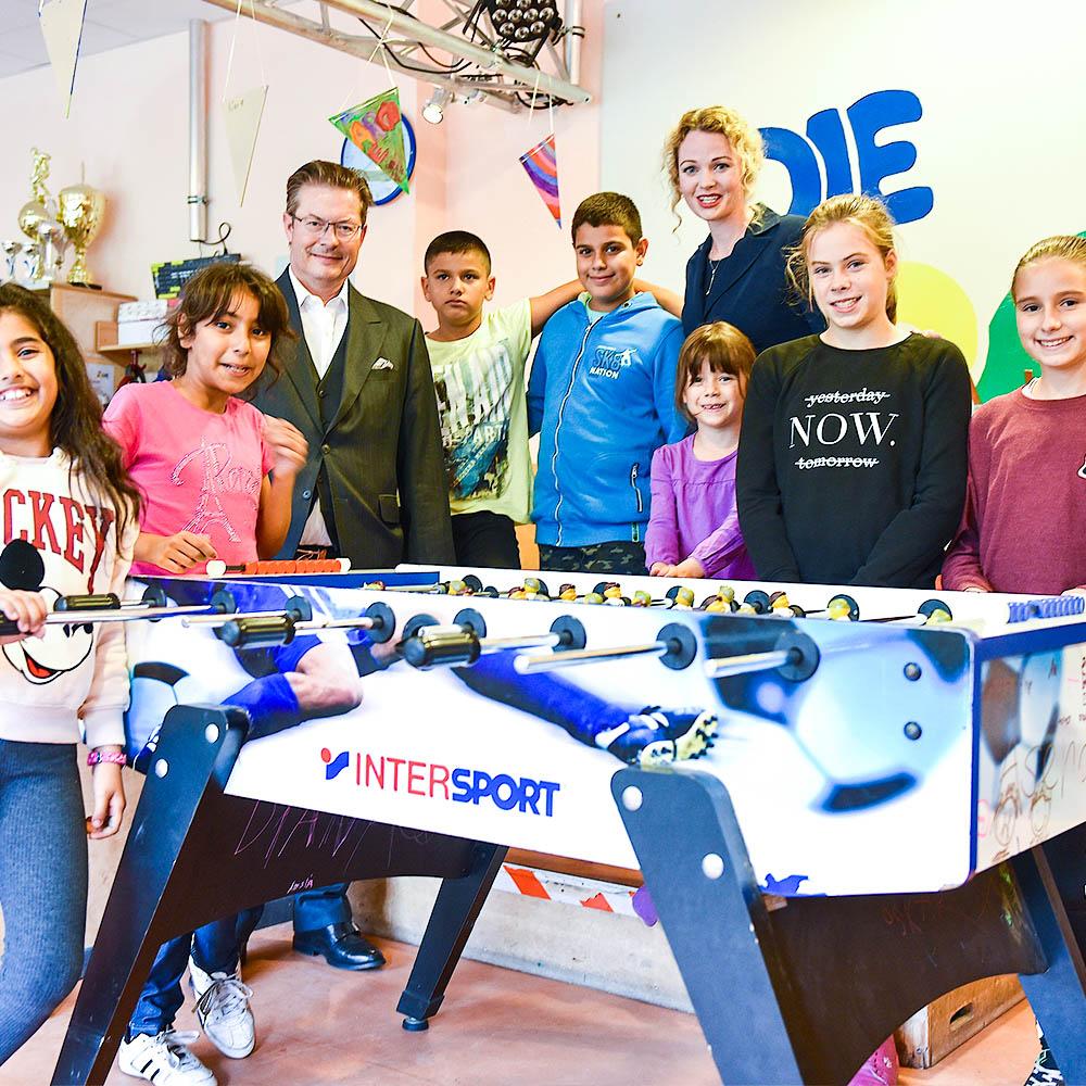 Rainer Schorr with Die Arche Kids