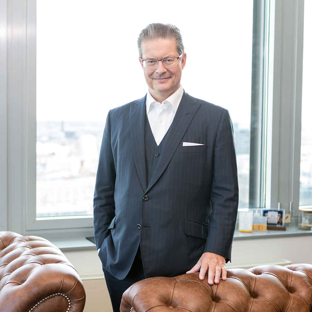 Investor and entrepreneur Rainer Schorr